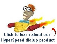 Make your dialup go 3-5 times faster!